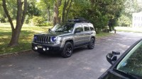 bull/push bar with led off road lights f/s - Jeep Patriot ...