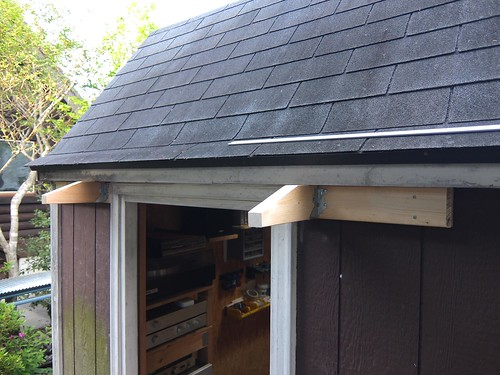 Eaves for Garage Backdoor