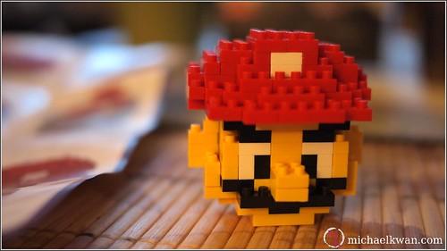 LEGO Mario Head