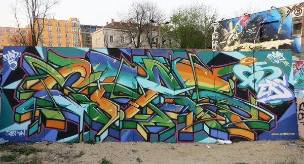 Cras Yard 5 graffiti jam berlin