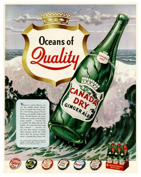 Canada Dry Ginger Ale - 1949
