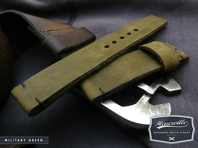 Heuerville Straps - Military Green