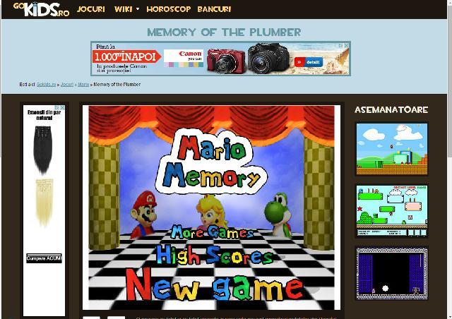 jocul Mario