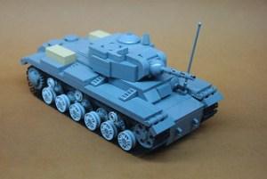 Soviet KV-1s Heavy Tank (2)