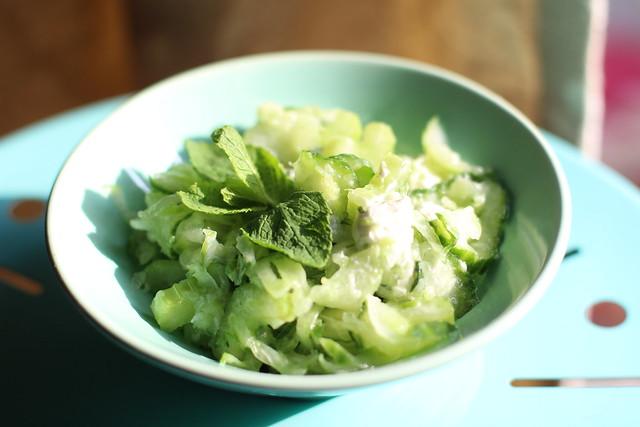 groene side salad