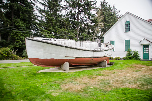 Self Righting Coast Guard Boat