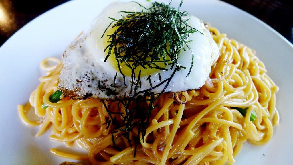 Cafe L Orangerie Vancouver Japanese Pasta