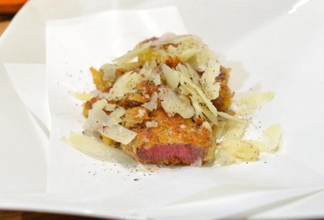 Wagyu Filet, Truffled Parmesan Cheese