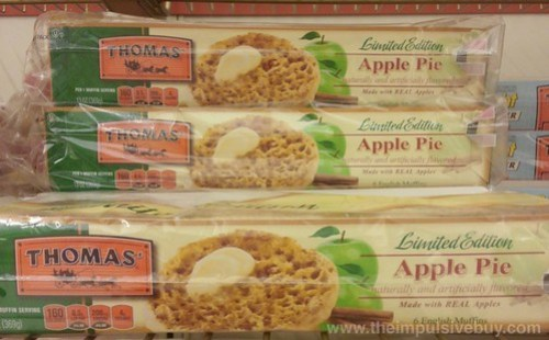 Thomas' Limited Edition Apple Pie English Muffins