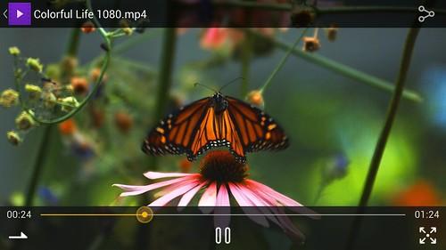 ชมคลิปวิดีโอ 1080p บน Alcatel Idol X+