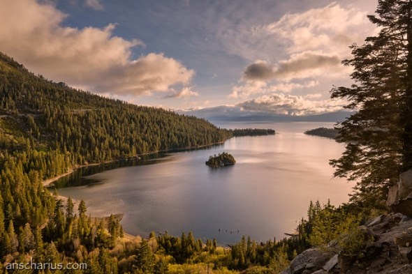 Sunrise at Emerald Bay #2 - Nikon D800E & AF-S 2,8/14-24mm