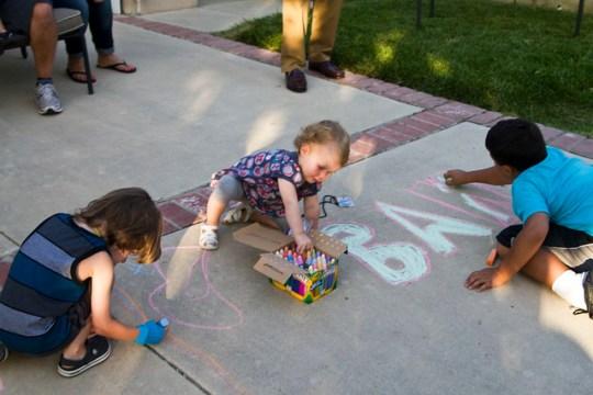 chalk time