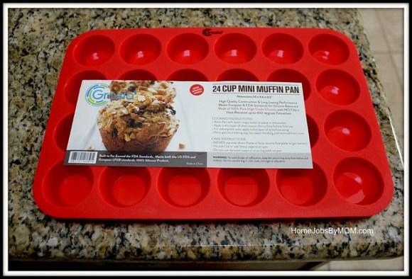 Grazia Silicone 24 Cup MINI Muffin Pan