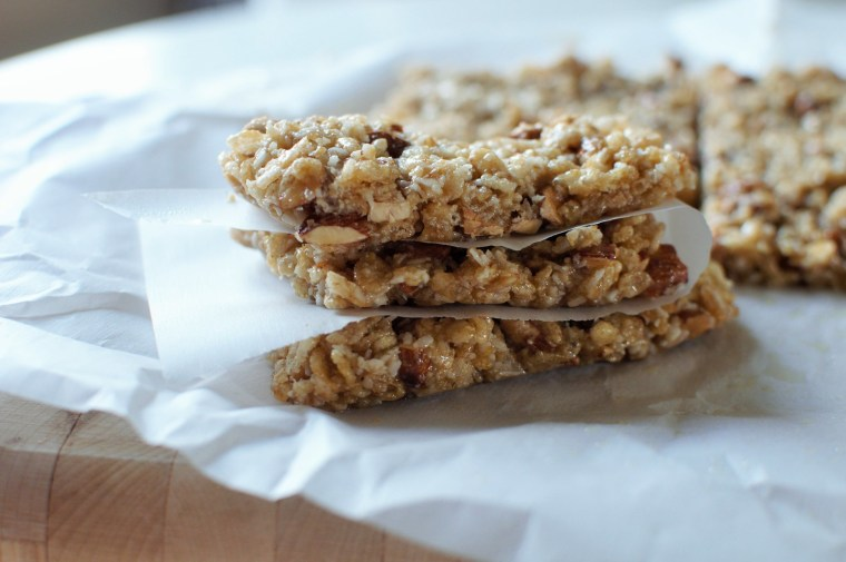 Coconut Almond Granola Bars 5