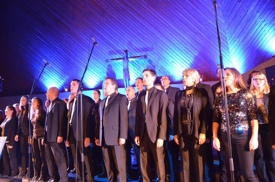 2014-12-14 GospelWeihnacht, Freiberg, 14. Dezember 2014