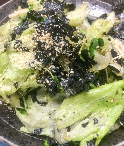 スタミナ苑 生野菜サラダ
