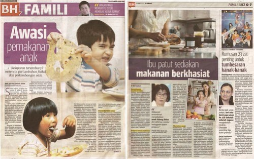 Hidden Hunger & Horlicks Chocolate - Berita Harian-Famili_23 May 14_Pg 6-7