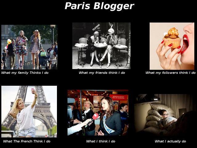 Paris Blogger Meme