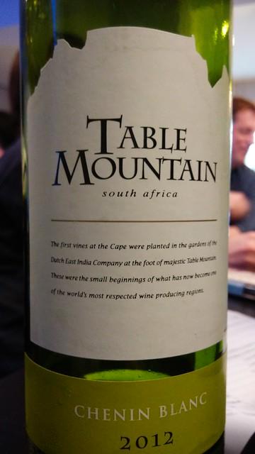 Table Mountain Chenin Blanc 2012
