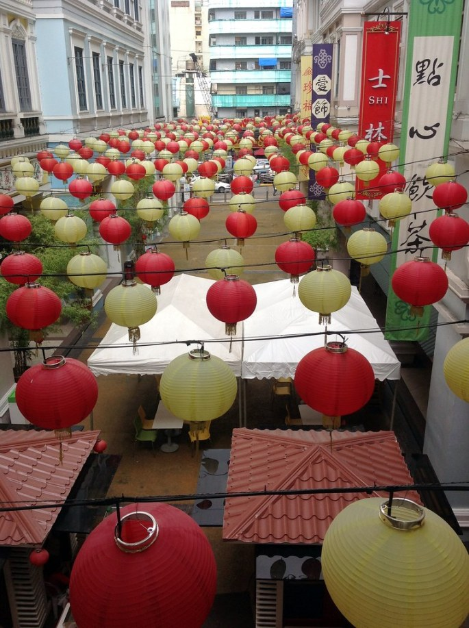 The soon to be location of Mei Wei Lu