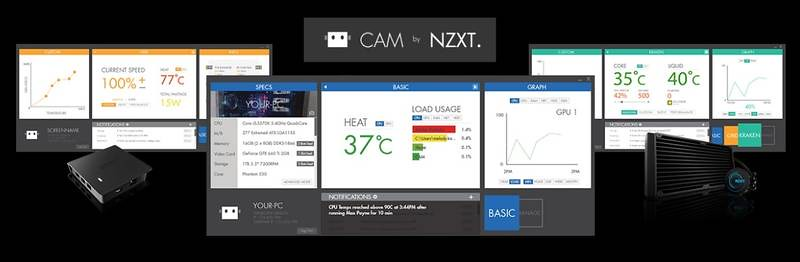 Nzxt Introduces Grid Fan Controller And Kraken X41 X61 Liquid Coolers