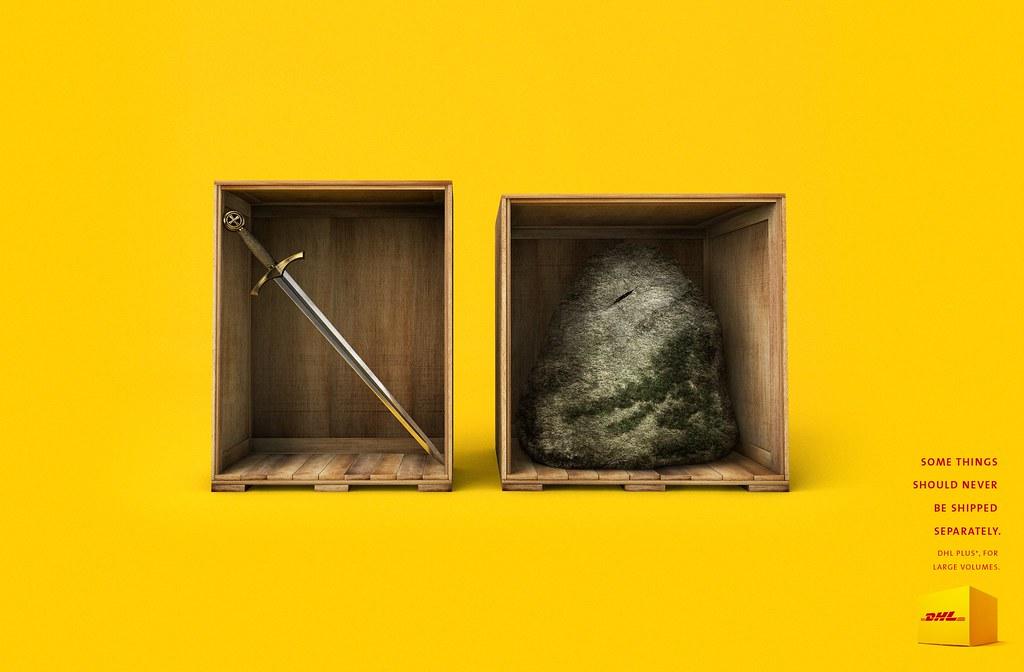 DHL - Separated Knife King Arthur