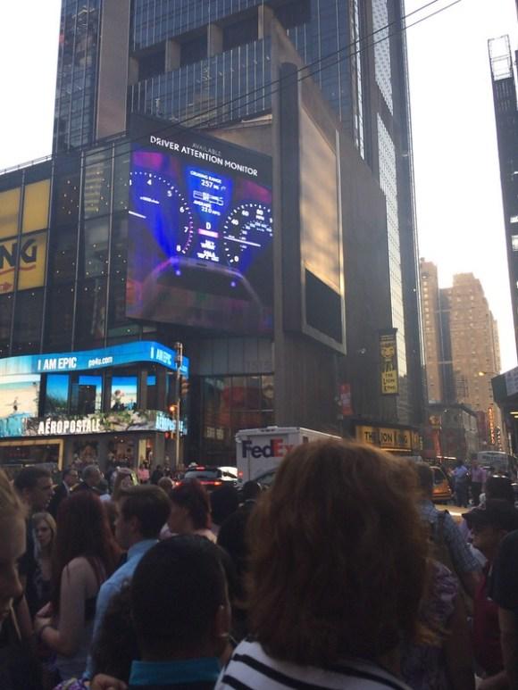 タイムズスクエア付近