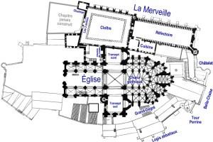 Mont Saint-Michel - etage superieur