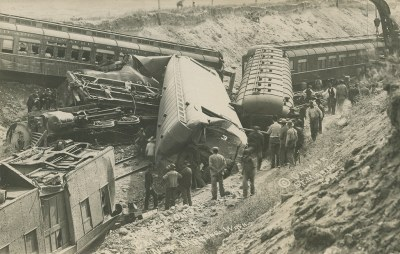 Milwaukee Road's Columbia Express Wreck, May 30, 1911 - Marengo, Washington