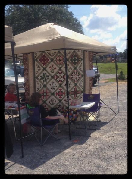 craft fair quilts