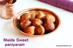 Maida-sweet-paniyaram