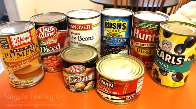 canned stuff