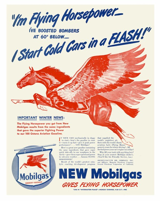 Mobilgas - published January 1946