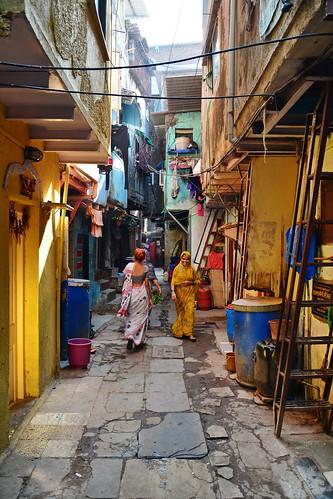 India - Maharashtra - Mumbai - Dharavi Slum - 11