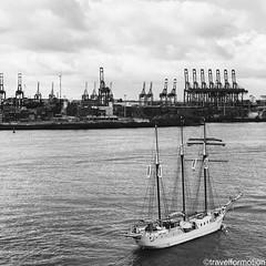 #old #vs #new #hamburg #ship #harbour #blackandwhite #hamburg_de #ahoihamburg #igershamburg #visithamburg #explorehamburg #traumstadt #speicherstadt #igershh #welovehh #igersgermany #germany #vsco #vscocam #wanderlust #guardiantravelsnaps
