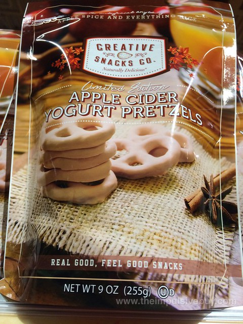 Creative Snacks Co. Limited Edition Apple Cider Yogurt Pretzels