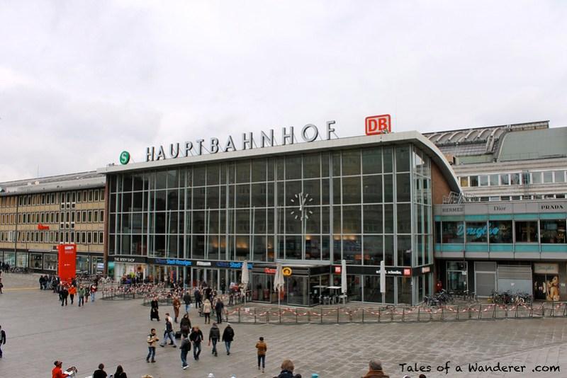 KÖLN - Köln Hauptbahnhof