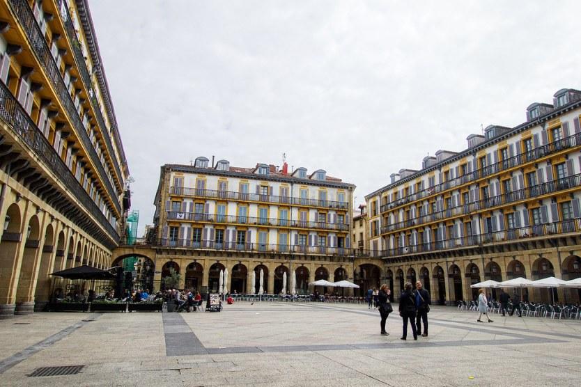 Constitucion Square, San Sebastián.