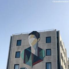 #streetart #art #thecrystalship #streetart_daily #streetartistry #oostende #ostend #visitoostende #visitflanders #wood #wanderlust #travel #travelgram #guardiantravelsnaps #vsco #vscocam #architecture #belgium #igbelgium #spring #blue #sky