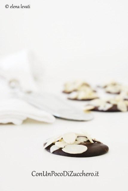 Chocolate & Almond Disks 2