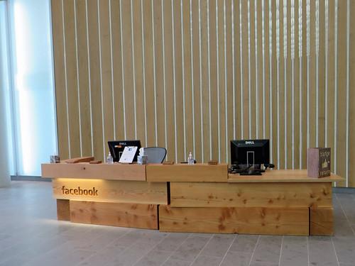 Facebook HQ reception, Regents Place