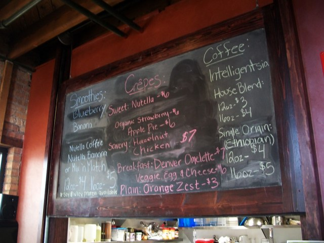 Smoothies, Crepes and Coffee