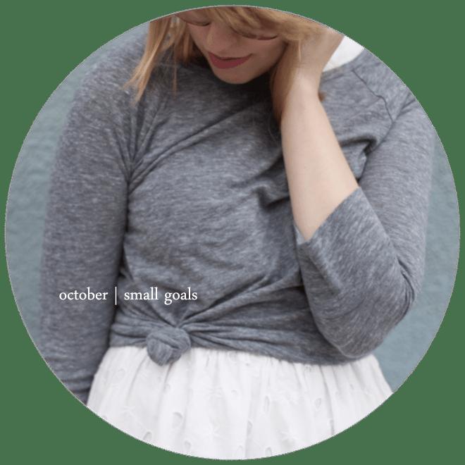 small-goals-october