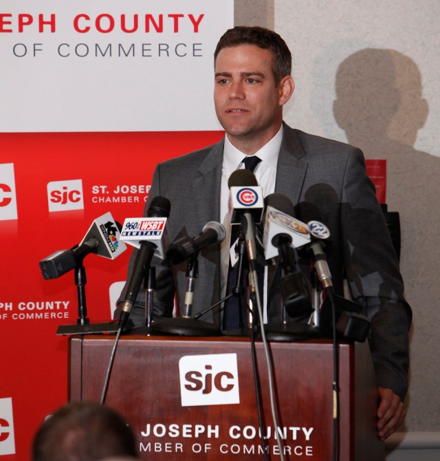 Theo Epstein - South Bend Cubs Press Conference