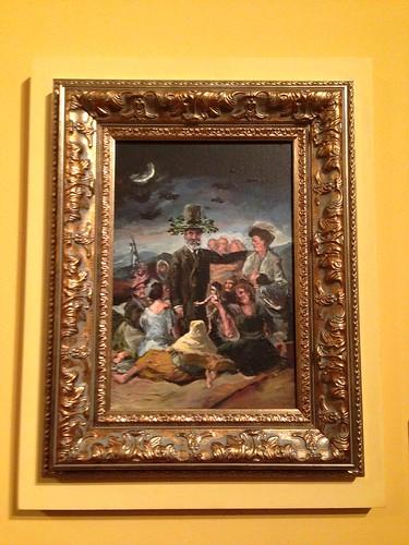 Aquelarre, Enrique Marty. Fundación Lázaro Galdiano. Madrid