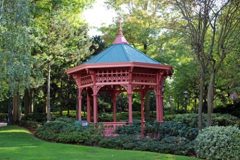 Fantasia Gardens gazebo