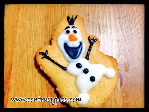 Galletas de Olaf (Frozen)