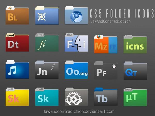 CS5 Folder Icons