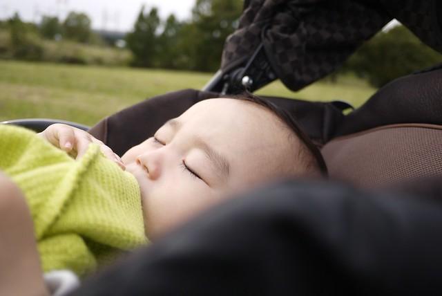 Sleeping Baby Park Japan