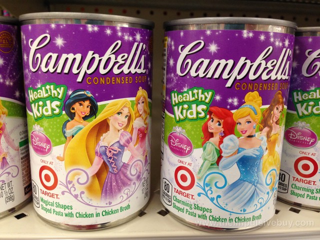 Campbell's Disney Princess Healthy Kids Condensed Soup